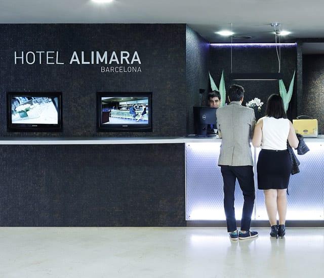 Recepción Hotel Alimara